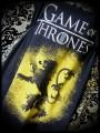 Robe Game of Thrones noir jaune détails bronze - taille S/M
