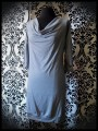Robe grise col bénitier - taille S/M