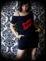Stranger Things black dress w/ pockets - size S/M