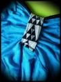 Haut à bretelles bleu turquoise - taille S/M