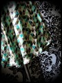 Strapless top w/ pockets triangle print - size S/M
