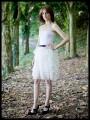 Erika dress chiffon ruffles - size XS to M