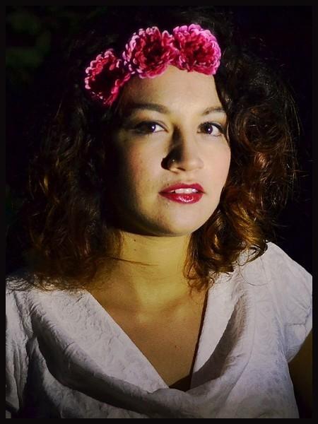 Headband hairband chrysanths flower