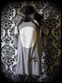 Robe grise boléro intégré noir rayé Threadless - taille S/M