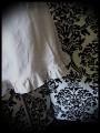 Robe grise Threadless buste pied de poule décolleté asymétrique - taille S/M