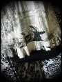 Haut noir rayé imprimé gris - taille S/M
